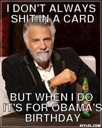 my obama birthday message u2026 k u0027brocking