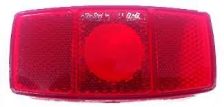 side marker light lens light lens only red miro flex 348 mfl349r
