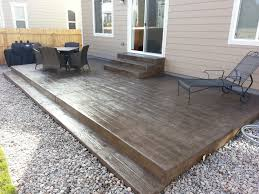 Concrete Patio Design Pictures With Ideas Pergola Sted Concrete Patio Design
