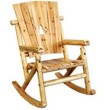 Patio Rocking Chairs Wood Unfinished Wood Rocking Chairs Patio Chairs The Home Depot