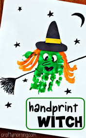 Preschool Halloween Craft Ideas - creative halloween crafts for kids to make witch craft witches