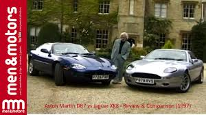 aston martin db7 vs jaguar xk8 review u0026 comparison 1997 youtube