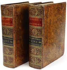 a dictionary of the english language in which the words are a dictionary of the english language in which the words are deduced from their originals and illustrated in their different significations by examples