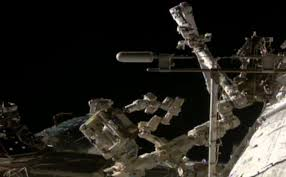 outside space iss updates on twitter iss robots begin critical power switching