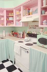 Retro Kitchen Curtains 1950s by Best 20 Pink Kitchen Curtains Ideas On Pinterest U2014no Signup
