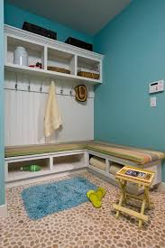Beadboard Bench - mudroom bench for entry traditional with beadboard mahogany front