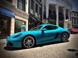miami blue porsche 718 club r