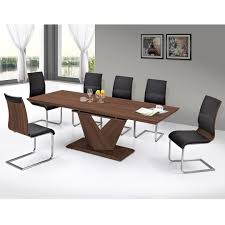 Canada Dining Room Furniture by Nspire Eclipse Dining Table Walnut 201 860wl Modern Furniture