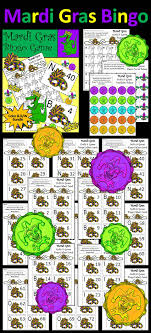mardi gras bingo mardi gras activities mardi gras bingo activity packet