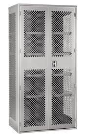 ventilated steel storage cabinets