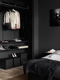 black walls in bedroom black room decor bm furnititure