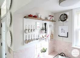 kitchen pegboard ideas kitchen pegboard storage 18 storage ideas for small spaces bob