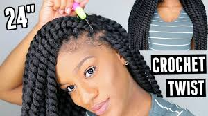 braids crochet how to install waist length crochet braids in 1 hour jumbo