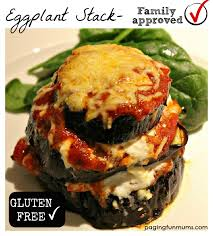 eggplant stack u003d yummy family friendly meal