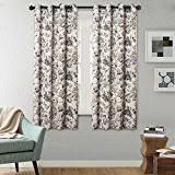Grommet Curtains 63 Length Amazon Com 63 Inch Panels Draperies U0026 Curtains Home U0026 Kitchen