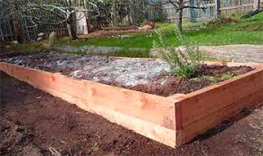 eartheasy bloghow to build a raised garden bed on sloping uneven
