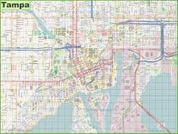 Tampa Florida Usa Map by Tampa Maps Florida U S Maps Of Tampa