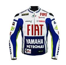 biker safety jackets yamaha fiat cowhide leather motorbike racing jacket ce approved