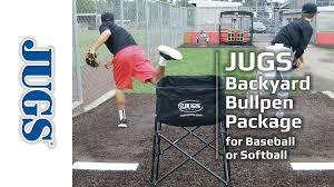 backyard bullpen package jugs sports youtube