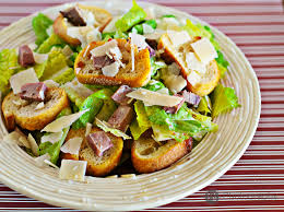 the real deal with eggs and anchovies classic caesar salad with
