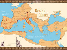 Map Rome Roman Empire Map East And West History Facts Serhat Engul Blog