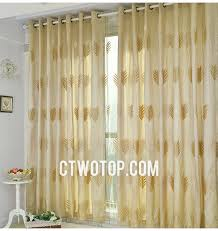 Privacy Sheer Curtains Inspiration Of Gold Color Curtains And Gold Hollow Out High End