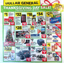 black friday deals on thanksgiving day dollar general black friday ad scan and printable list