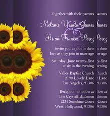 21 sunflower wedding invitation templates u2013 free sample example