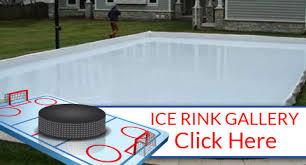 chicago il backyard ice rink installation hockey ice skating