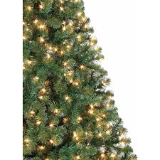 artificial prelit christmas trees time pre lit 6 5 pine artificial christmas tree