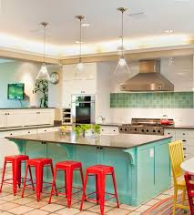 turquoise kitchen island 25 turquoise country kitchen fancilicious fairylands