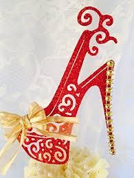 shoe cake topper high heel shoe cake topper handmade