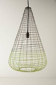 how to wire a pendant light woven wire pendant l i anthropologie com