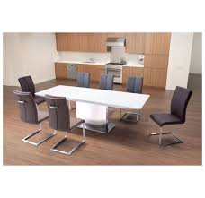 Zuo Modern Desk by Zuo Modern Pierrefronds Extension Dining Table White Disc 107860
