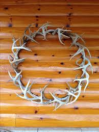 best 25 antler wreath ideas on rustic wreaths