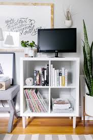 3 ways to style and use ikea u0027s kallax expedit shelf the everygirl