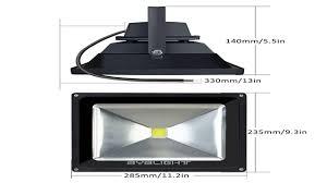 Halogen Outdoor Flood Light Fixture by Le 20w Super Bright Outdoor Led Flood Lights 200w Halogen Bulb