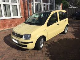 2011 fiat panda very low mileage panoramic sunroof bluetooth