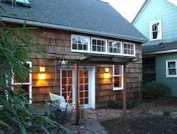 Small House Backyard A Shingled Backyard Cottage Studio Eccos Design Small House Bliss