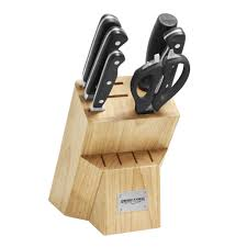 ergo chef pro series 7 piece knife block set premium chef knives