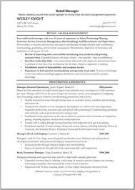 Retail Management Resume Examples by Assistant Manager Resume Cover Letter Assistant Manager Resume