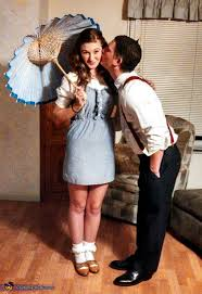 Johnny Cash Halloween Costume Darla Alfalfa Couple Costume Couples Costumes Halloween