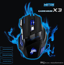 Mouse X3 2018 Wired Usb Gaming Mouse Computer Mouse X3 Mouse Gamer 5500