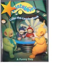 teletubbies coloring book ebay periodic tables