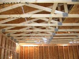 engineered roof trusses home roof ideas