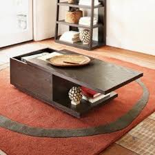 sliding top coffee table west elm sliding top coffee table for the living room pinterest