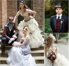 mariage steunk mariage steunk un peu étonnant et absolument magique