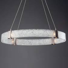 Led Chandelier Parallel Oval Led Chandelier By Hammerton Studio Ylighting