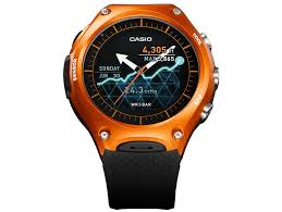 casio wsd f10 is the first rugged android wear smartwatch for the