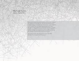 Michael Kors Resume Michael Kors U2014 Gutesdesignist